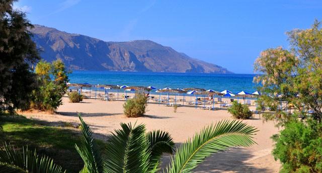 Пляж отеля Маре Монте