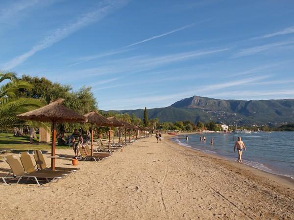 Пляжи Корфу