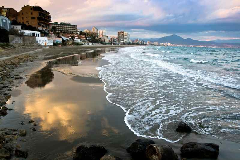 Пляж Эль Саладар