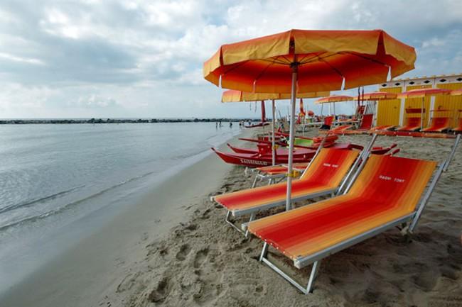 Сан-Ремо- пляжи