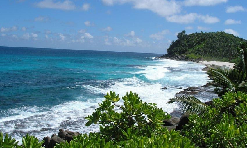 пляж Анс Интенданс Cейшелы