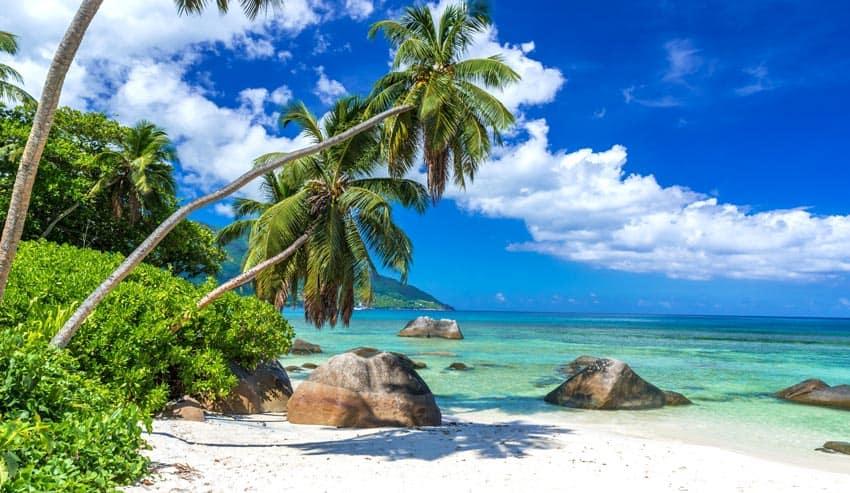 пляж Бо Валлон Cейшелы