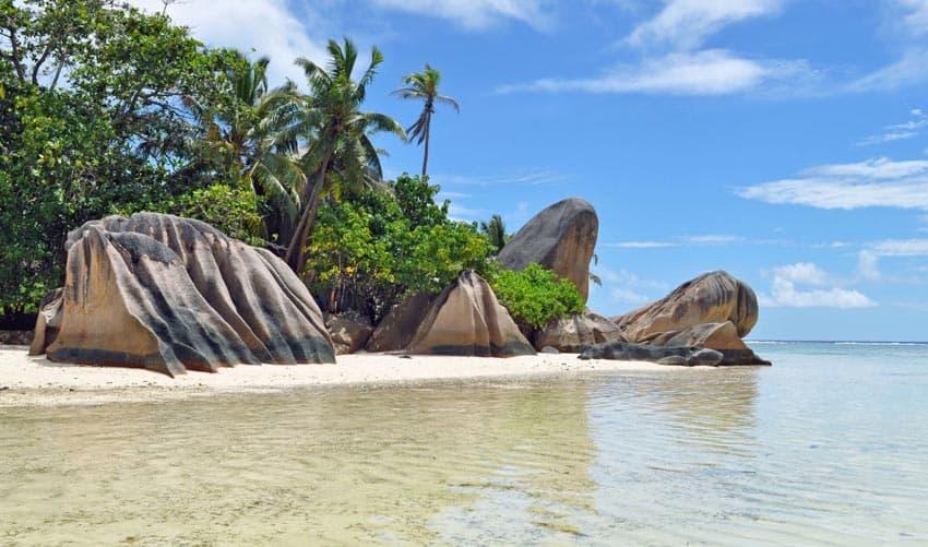 пляж Сурс д'Аржан Cейшелы