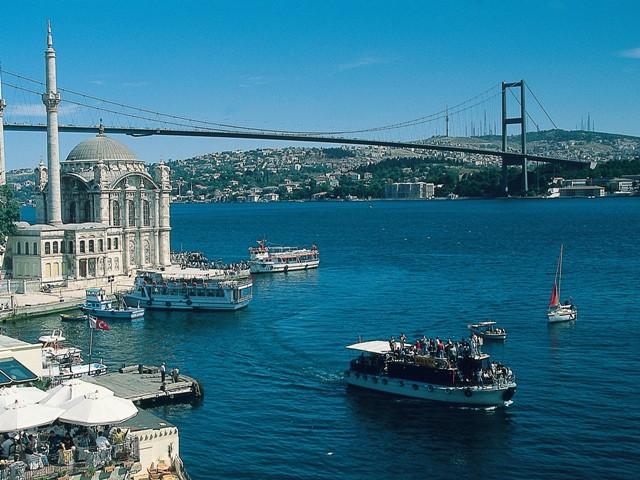 Городские пляжи в Стамбуле