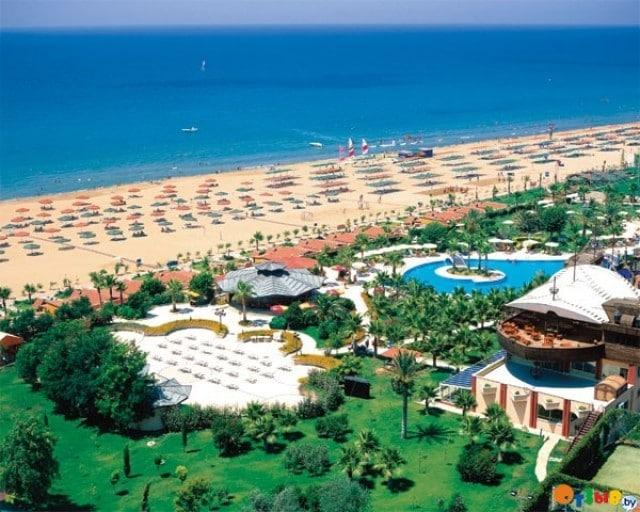 Красивые пляжи Турции
