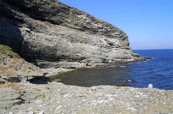 Пляж Двухякорной бухты