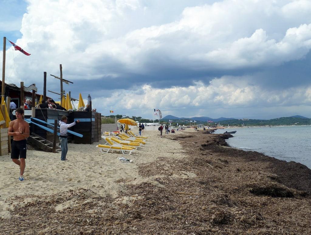 Пляж Pampelonne