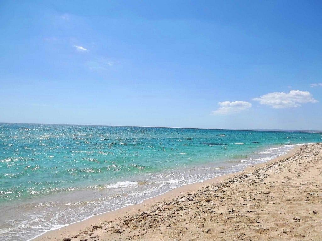 Пляж с песком Беляус