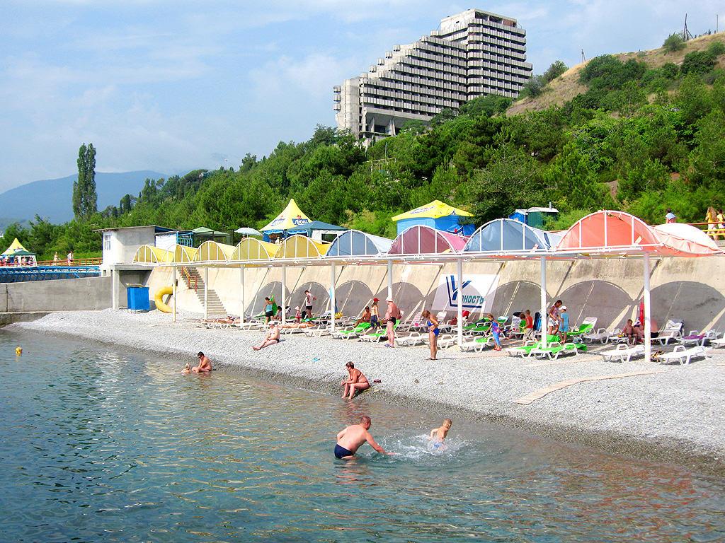 Лучшие пляжи в Алуште