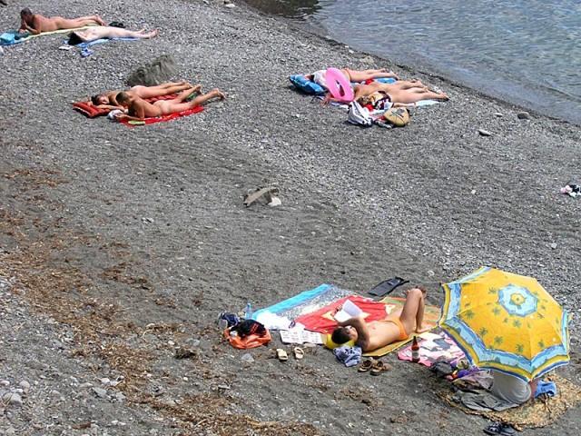 Нудистские пляжи Алушты