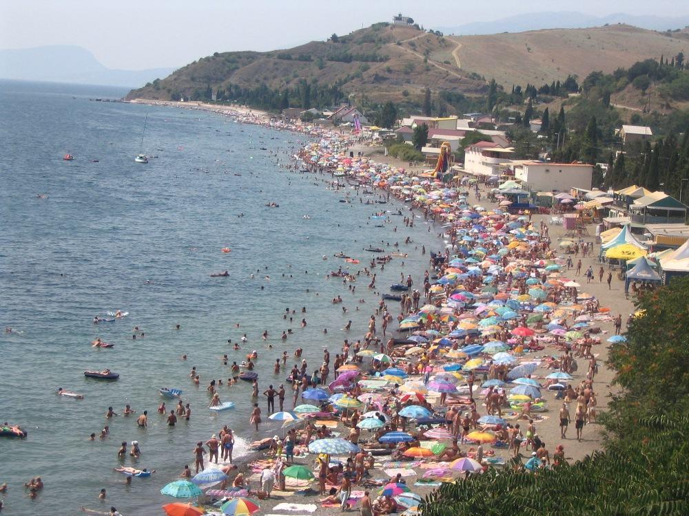 Фото пляжей Алушты