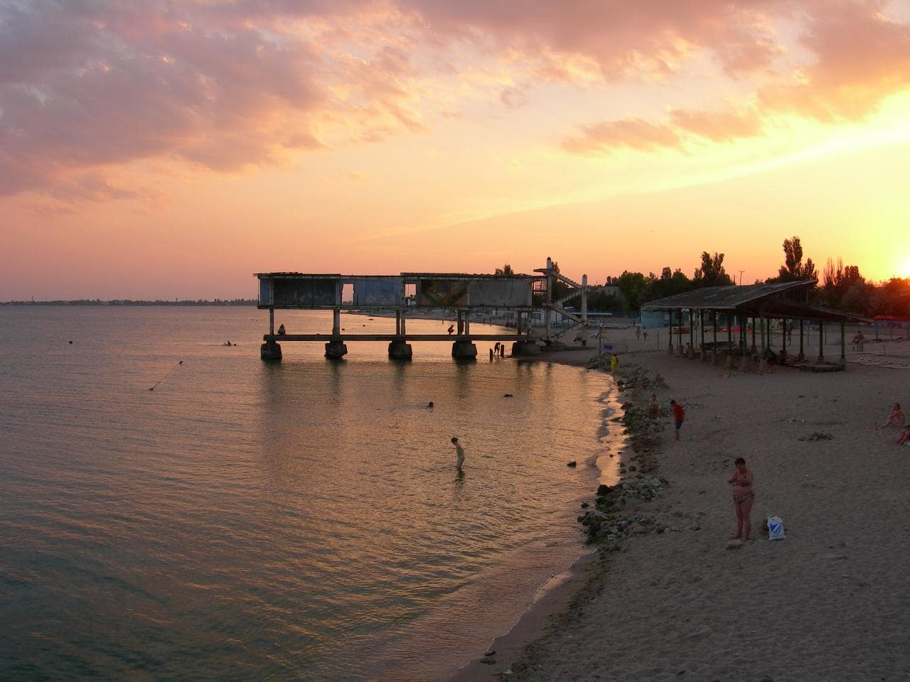 Пляжи Евпатория в Крыму