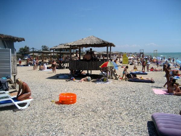 Платные пляжи Евпатории