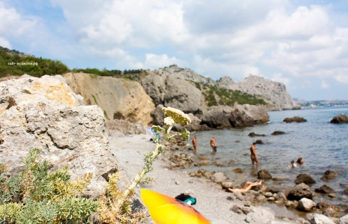Нудистский пляж Феодосии