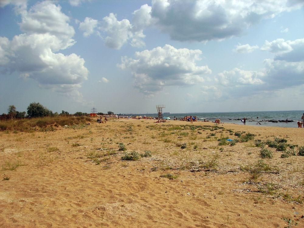 На Золотом пляже