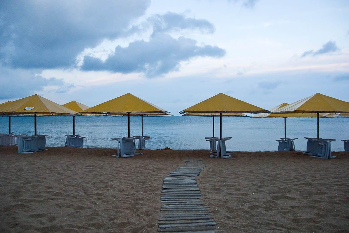 Фото пляжей Феодосии