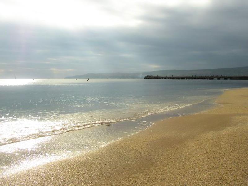 «Золотой» пляж в Феодосии