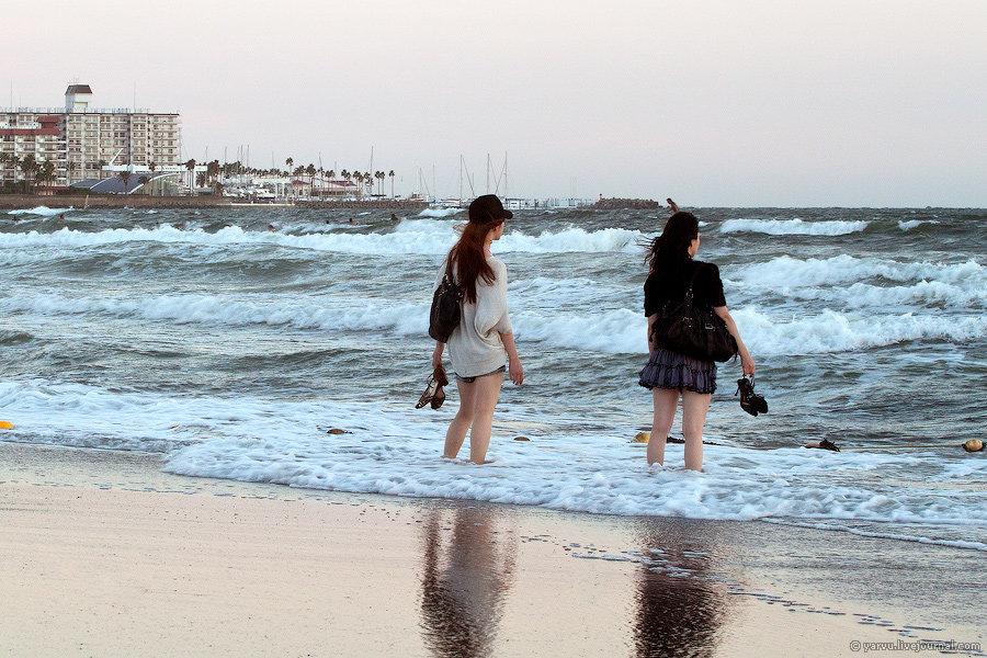 Пляжи Камакура