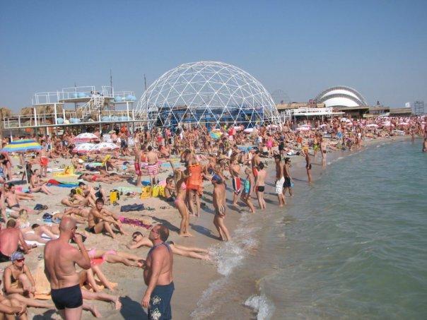 Пляжи Казантипа