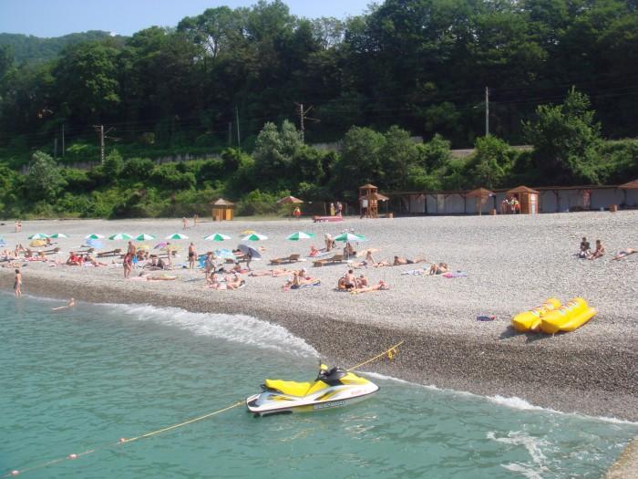 Городской пляж «Ласточка»