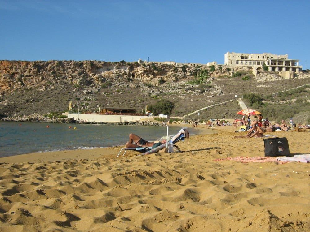 Мальта -песок и пляжи
