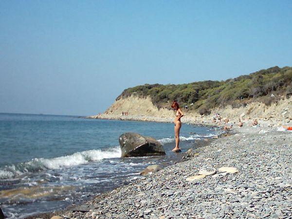 Пляж Мзымта
