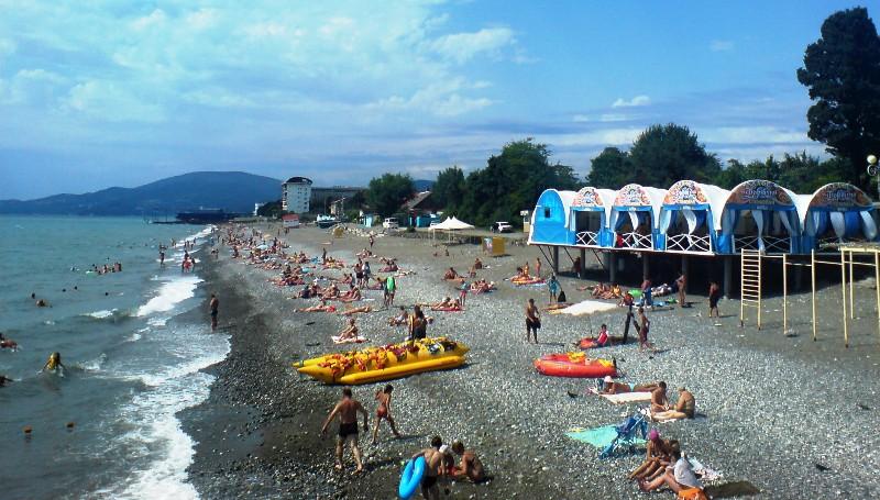 Обзор пляжей Сочи: Огонёк