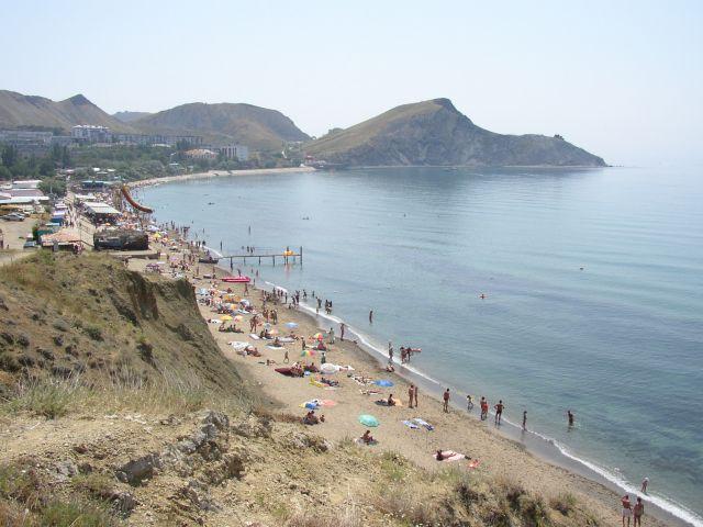 Пляж Орджоникидзе1