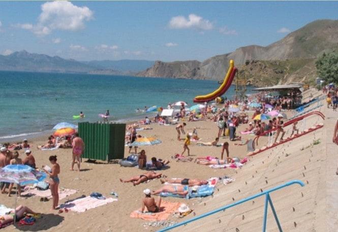 Пляжи в Орджоникидзе
