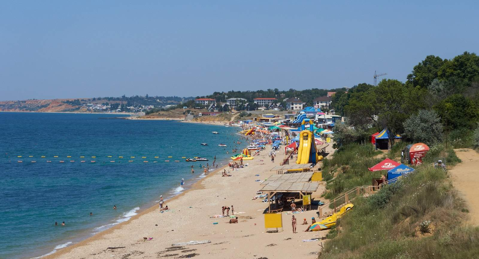 Учкуевка фото поселка и пляжа 2018