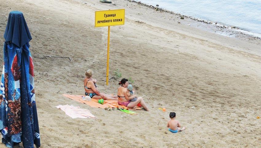 зона лечебного пляжа Анапа