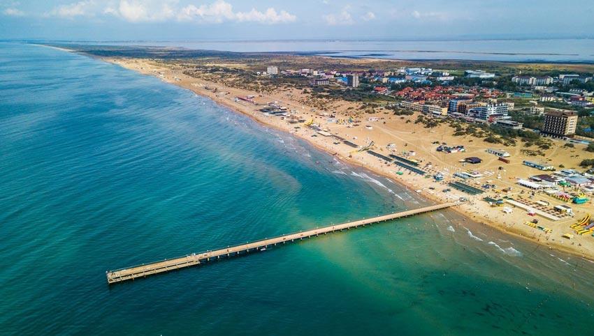 Анапа пляж Витязево
