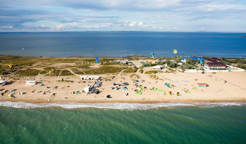 Благовещенский пляж в Анапе