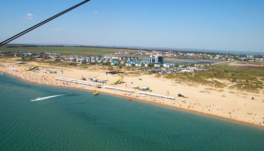 пляж станица Благовещенская