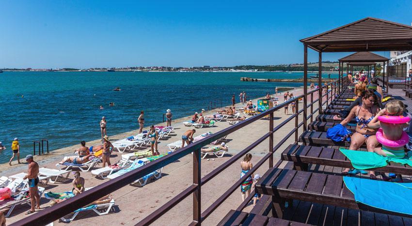 пляж Солнце Геленджик