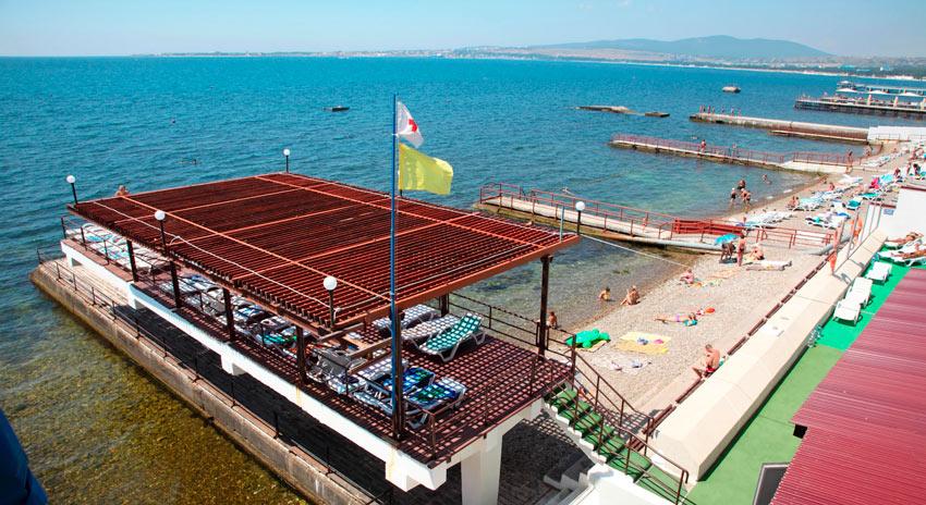 пляж Эдельвейс Геленджик