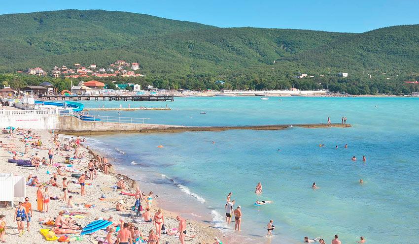 пляж Бриз Геленджик