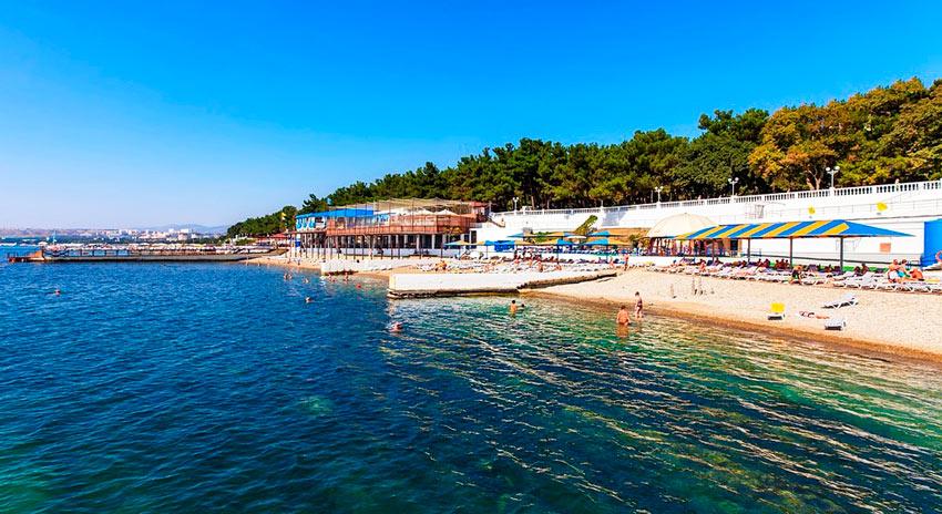 пляж Северянка Геленджик