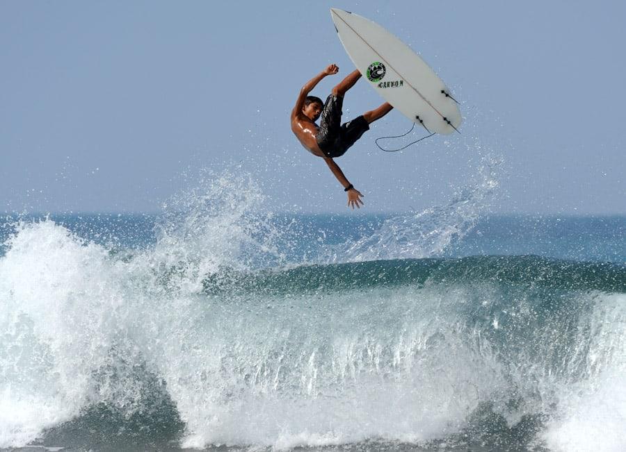Серфинг в Коста - Рика
