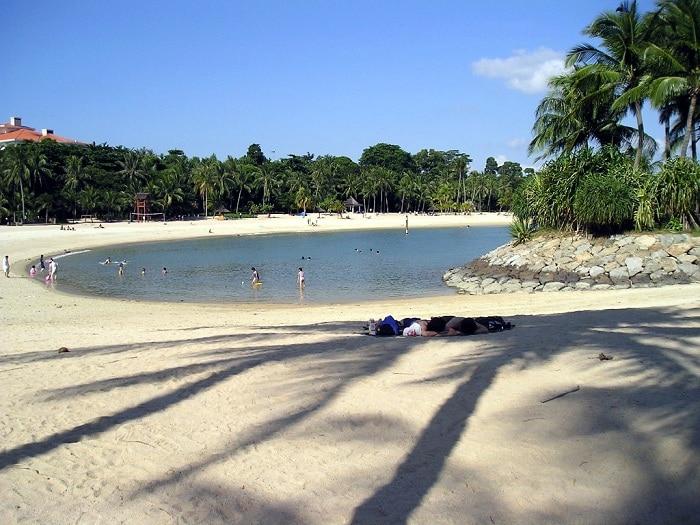 Пляжный отдых в Сингапуре