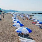 комфортабельный пляж Спутник в Сочи