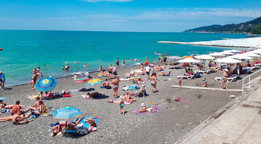 пляж Фазотрон Мамайка