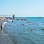 отдых на пляже Чайка Адлер