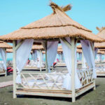 отдых на пляже Мандарин Адлер