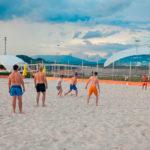 активный отдых пляж Волна