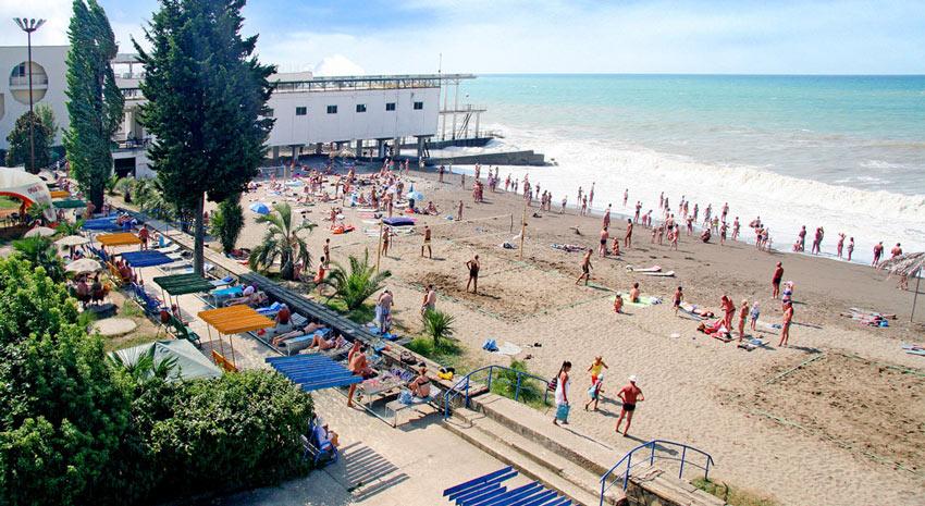 пляж Бургас Адлер