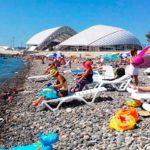 пляж Олимпийский Адлер