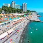 центральный пляж Сочи