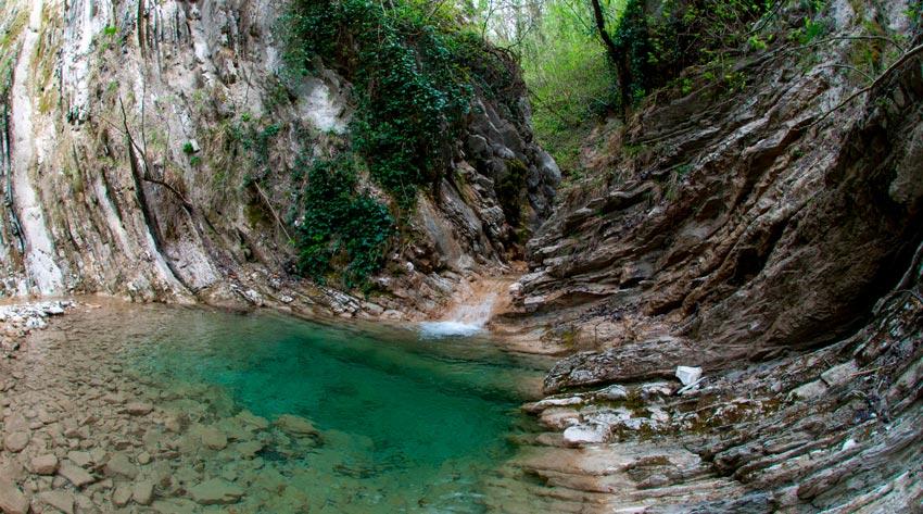 озеро и водопад Дедеркой Туапсе