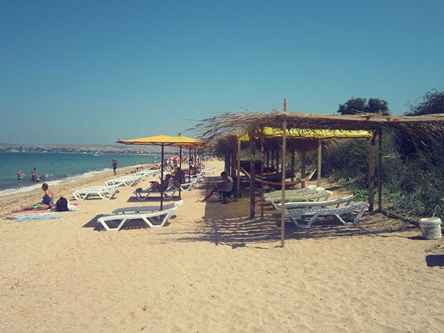 Пляж Щелкино1